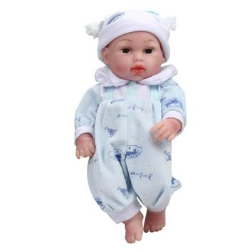 11 Inches Simulation of soft baby doll baby Handmade Real Looking Newborn Baby Vinyl Silicone Realistic Reborn