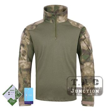 Tactical Emerson BDU G3 Combat Shirts Emersongear CP Style Battlefield Tops Assault Uniform Body Armor Apparel A-Tacs Green