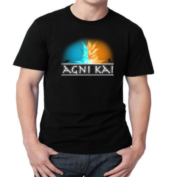 Avatar - Agni Kai Mens T-shirt Black