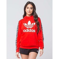 "Charmvip | ""Adidas""Fashion Print Hooded Pullover Tops Sweater Sweatshirts"