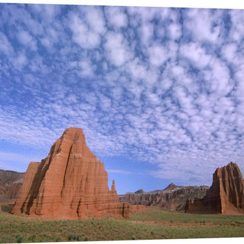 Sandstone Formations, Temples of the Sun and Moon
