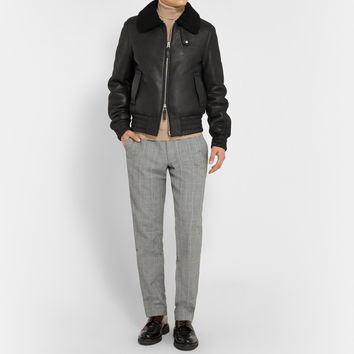 AMI - Shearling Bomber Jacket | MR PORTER