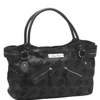 Rock Rebel Embossed Sugar Skull Big Tote