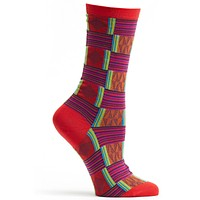 Sahara Patchwork Sock