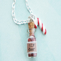 elf dust necklace
