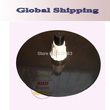 wholesale-Free Shipping--ABS holder with plug for styrofoam head/training head/block canvas head /mannequin head/ wig case