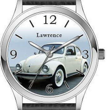 Classic VW Beetle Watch Can custom made by SandMwatch on Etsy