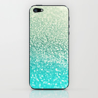 GATSBY MINT iPhone & iPod Skin by Monika Strigel