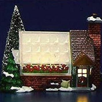 Dept 56 Original Snow Village Greenhouse 5402-0 Retired Department 56