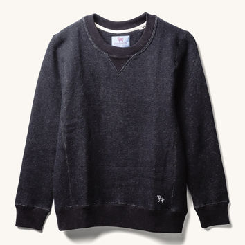Smile Wool Cotton Crewneck