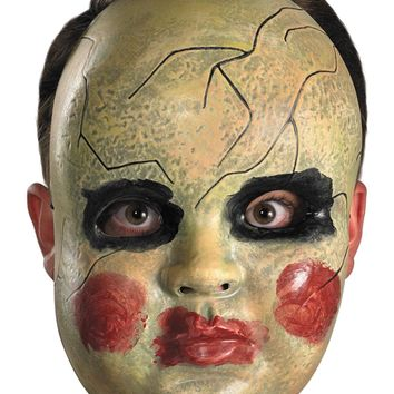 Smeary Doll Face Mask Halloween 2017