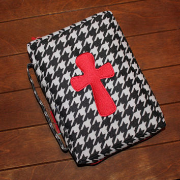 Houndstooth Bible Cover
