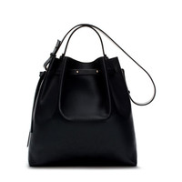 LIMITED EDITION LEATHER BUCKET BAG - Handbags - WOMAN | ZARA United Kingdom