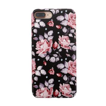 Floral Case for iPhone 8 Plus / 7 Plus - Blush Rose