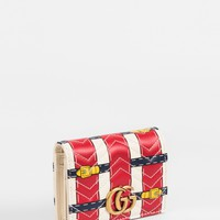 """GUCCI """"GG Marmont"""" card case"""