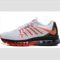 NIKE Women Men Running Sport Casual Shoes Sneakers White orange