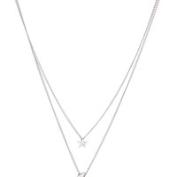 Serena Necklace - Silver