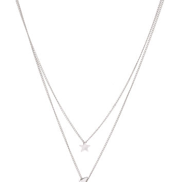 Serena Necklace in Silver