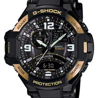 Men's G-Shock 'Gravity Master' Digital Compass Resin Watch, 51mm x 52mm