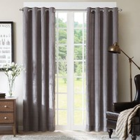 Zuly 84-Inch Grommet Window Curtain Panel