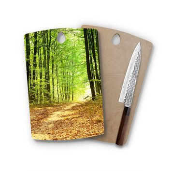Light In Trees Rectangle Cutting Board Trendy Unique Home Decor Cheese Board