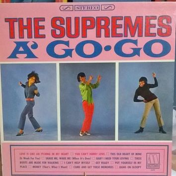A' Go Go - The Supremes, LP