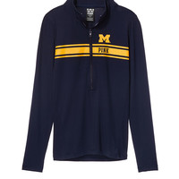 University Of Michigan Ultimate Deep Zip - PINK - Victoria's Secret