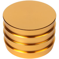 "Large Pagoda Tower Herb Grinder - 2.5""  (Gold)"