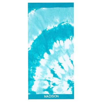 Tie Dye Beach Towel, Cool