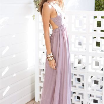 Buy Lavender Sway Maxi Online by SABO SKIRT