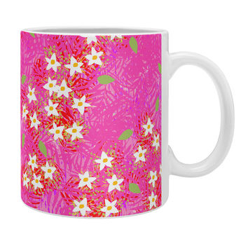 Joy Laforme Tropical Wild Blooms Coffee Mug