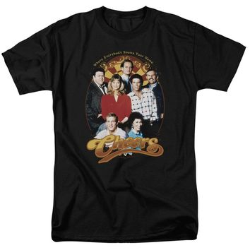 Cheers - Group Shot Short Sleeve Adult 18/1