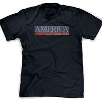 "Men's ""America Fuck Yeah!"" by Badcock Apparel (Navy)"