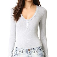 Henley Body Suit