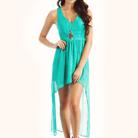 high-low-dress GREY MINT - GoJane.com