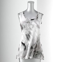 Simply Vera Vera Wang Watercolor Tank