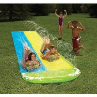 Wham-o Slip N Slide Wave Rider Double With 2 Slide Boogies:Amazon:Toys & Games