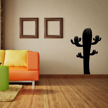 Vinyl Wall Decal Sticker Cactus#OS_MB421