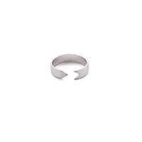 Matte Arrow Ring (Silver)