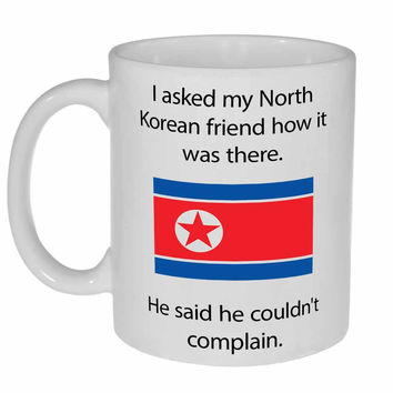 North Korea Coffee or Tea Mug