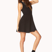 Posh Fit & Flare Dress