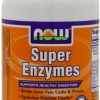 NOW Foods Super Enzymes, 180 Capsules