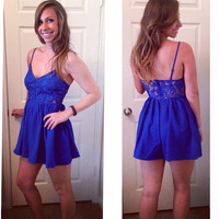 Blue Skies Romper/Dress