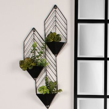 Tain Metal Wall Planter