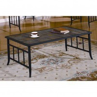 Anthony California Cocktail Table in Powder Black - MC140 - Accent Tables - Decor