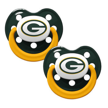 Green Bay Packers 2pk Baby Pacifier