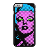 Marilyn Monroe Tattoo Floral iPhone 6 Plus Case
