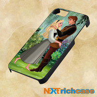 Sleeping Beauty in the Forest For iPhone, iPod, iPad and Samsung Galaxy Case