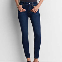 AEO Denim X4 Hi-Rise Jegging, Bright Star