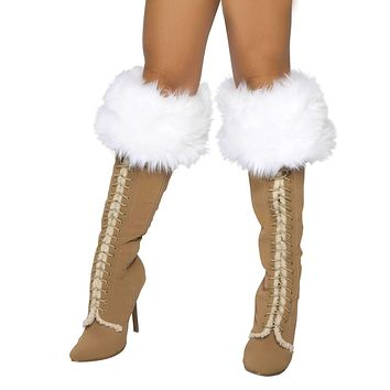 Roma Costume 4240B Fur Boot Cover